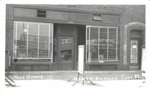LP94   North Kansas City Missouri Postcard RPPC Post Office