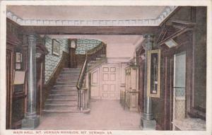 Virginia Mount Vernon The Main Hall
