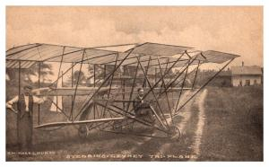 Stebbins-Gevinet Tri-plane built in Noriwch Connecticut