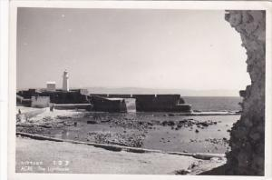 Israel Acre The Lighthouse Photo