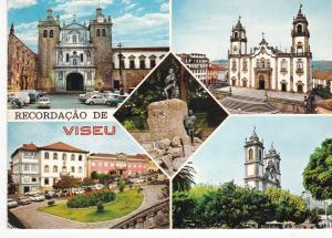 Post Card Portugal Visea Recordacao de Viseu