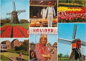 Modern Postcard Holland