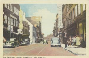 QUEBEC CITY , Quebec , 1947 ; St. John Street, Restaurant, Astor Cafe