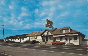 Exterior,  Motel Restaurant La Caravane,  St-Alexandre,  Cte Kamouraska,  Que...