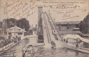Irish International Exhibition 1907 The Water Chutes