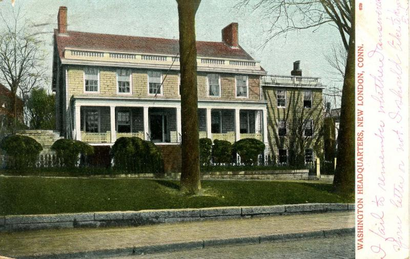 CT - New London. Washington's Headquarters