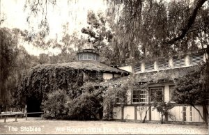 California Pacific Palisades Will Rogers State Park The Stables Real Photo