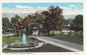 New York Watkin Glen View At Entrance
