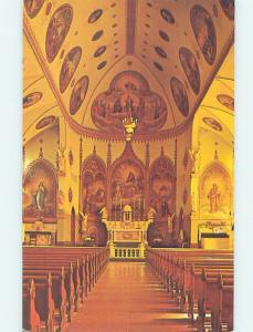 Unused Pre-1980 CHURCH SCENE St. Ignatius Montana MT A7505