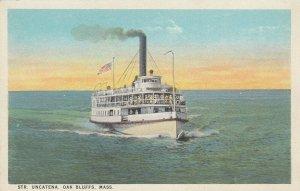 OAK BLUFFS , Massachusetts , 1900-10s ; Steamer UNCATENA