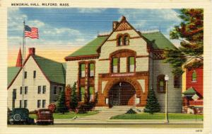 MA - Milford. Memorial Hall