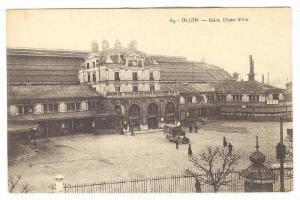 Gare Dijon-Ville, Dijon (Côte-d'Or), France, 1900-1910s