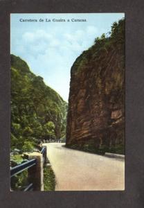 Venezuela Carretera de La Guaira Caracas Carte Postale Postcard