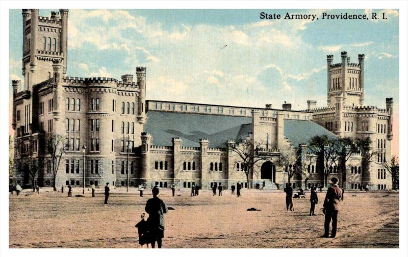 Rhode Island Providence  ,  New State Armory