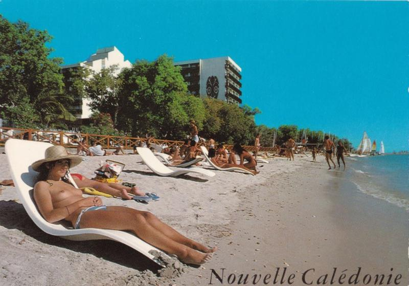 New Caledonia - Relaxing on the Beach - Moisnard Unused