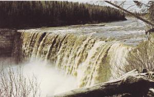 Alexander Falls , HAY RIVER , N.W.T., Canada , 50-60s View-2