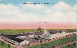 Michigan Monroe The Monroe Paper Products Company sk6456