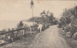 ANTIGUA . B.W.I., 1900-10s ; Crab Hill & Five Islands