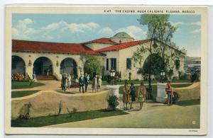 The Casino Agua Caliente Tijuana Mexico postcard