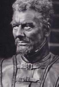 John Gielgud as Othello Rare Shakespeare Theatre Company Postcard