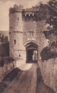 ISLE OF WIGHT, England, PU-1907; Carisbrooke Castle, Woodville Cateway
