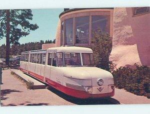 1960's COG TRAIN AT BROADMOOR HOTEL Colorado Springs Colorado CO AE1074