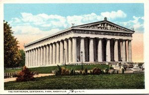 Tennessee Nashville Centennial Park The Parthenon Curteich
