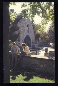 Providence,Rhode Island/RI Postcard, Providence College, Alumni Memorial Grotto