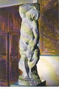 Italy Firenze Un Prigione Michelangelo Galleria dell'Accademia