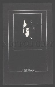 103346 ROMM Soviet film Director Jewish Old AVANT-GARDE Card