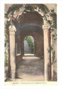 Entrata Dal Cortile Al Giardino Rufolo, Ravello (Salerno), Campania, Italy, 1...