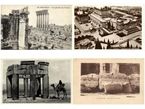 BAALBECK LEBANON 44 Vintage Postcards pre-1950