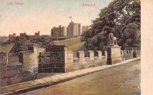Alnwick Lion Bridge Lion Statue Pont Panorama