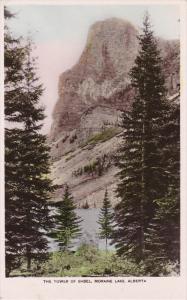 RP; The Tower of Babel, MORAINE LAKE, Alberta, Canada, PU-1929