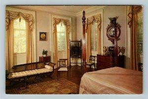 Savannah GA- Georgia, Owens-Thomas House Lafayette Room Vintage Chrome Postcard