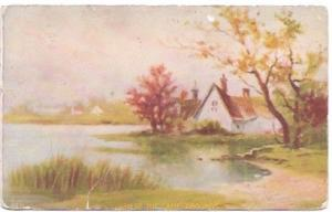 Post Card Scenery - Where the Game Abounds.  Mailed 1909