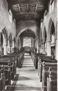 Northamptonshire Postcard - Church of St Mary - Great Brington - RP - Ref U4260