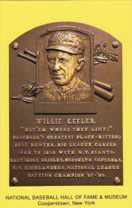 Willie Keeler National Baseball Hall Of Fame & Museum  Cooperstown New York