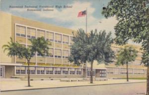 Indiana Muncie Tewchnical Vocational High School Curteich
