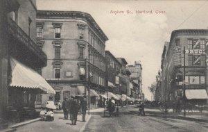 HARTFORD , Connecticut , 1909 ; Asylum Street