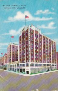 Missouri Kansas City The New Pickwick Hotel 1959