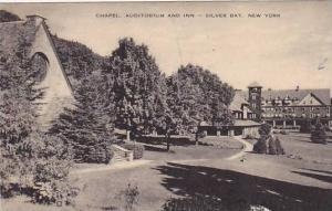 Chapel, Auditorium and Inn, Silver Bay,  New York,PU-1948