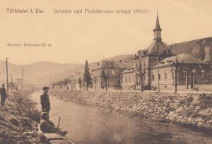 TURKHELM I. Els. Germany  , 00-10s ; Schulen und Fechtstrasse