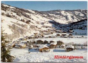 Hinterglemm, Austria, 1985 used Postcard