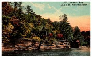 Wisconsin  Dells ,Sturgeon Rock