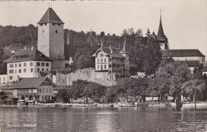Switzerland Spiez Schloss 1947 Photo
