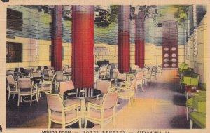 ALEXANDRIA, Louisiana, 1930-1940's; Mirror Room, Hotel Bentley