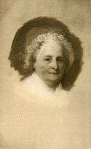 Martha Wasington Portrait by Gilbert Stuart