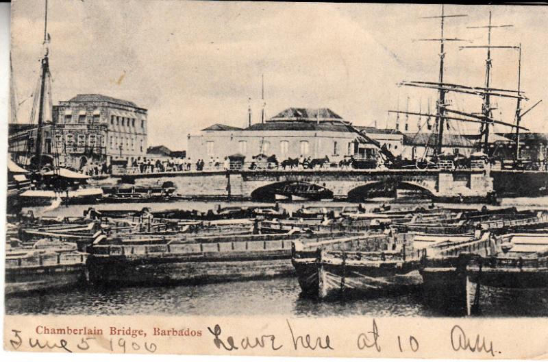 Barbados - Chamberlain Bridge  1906