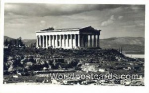 Temple of Theseu Athens Greece Postal Used Unknown